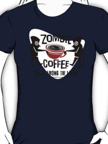 Zombie Coffee Retro T-shirt original design T-Shirt