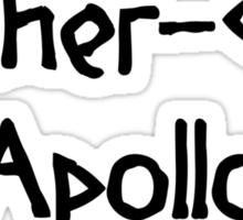 Archer-God Apollo (Black) Sticker