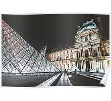Louvre, Paris Poster