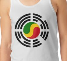 Korean Congolese Multinational Patriot Flag Series Tank Top