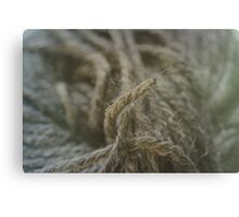 Wool Canvas Print