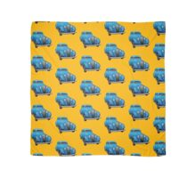 Blue Vintage Car Scarf