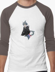 Wadanohara and the Great Blue Sea - Deep Sea Town Shark Tails / Samekichi Men's Baseball ¾ T-Shirt