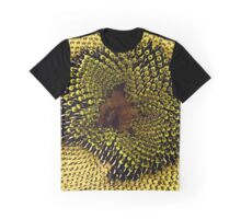 Textures of a Sunflower Graphic T-Shirt