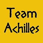 Team Achilles (Black) by supalurve