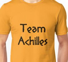 Team Achilles (Black) Unisex T-Shirt