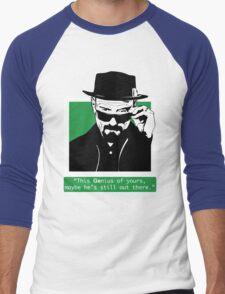 Heisenberg, This GEnius... Men's Baseball ¾ T-Shirt