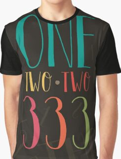 1 2 3 - One Two Three Graphic T-Shirt