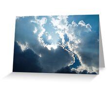 Morning Clouds............Lyme Dorset UK Greeting Card