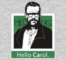 """Hello Carol."" _ Heisenberg by Théo Proupain"