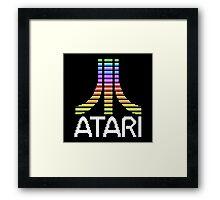 Atari Screen Logo  Framed Print