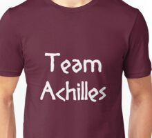 Team Achilles (White) Unisex T-Shirt