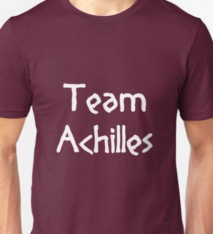 Team Achilles (White) Unisex T-Shirt