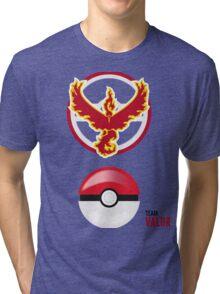 Valor Red Team, Pokemon GO Tri-blend T-Shirt