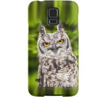 African Spotted Eagle Owl Samsung Galaxy Case/Skin