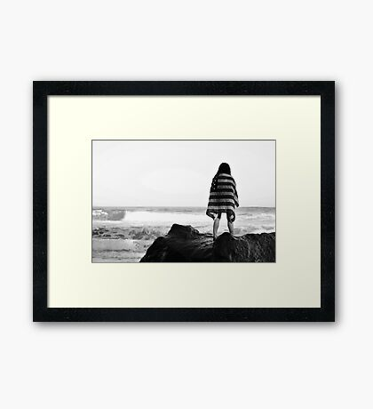The Flag Framed Print