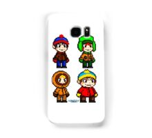 South Park Boys - Pixel Art Samsung Galaxy Case/Skin