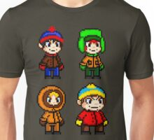 South Park Boys - Pixel Art Unisex T-Shirt