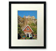 East Hill lift, Hastings Framed Print