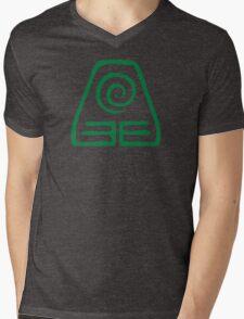 Earth Kingdom Symbol Mens V-Neck T-Shirt