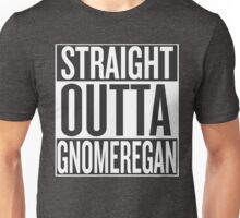 STRAIGHT OUTTA GNOMEREGAN Unisex T-Shirt
