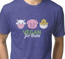 Vegan for Them Tri-blend T-Shirt