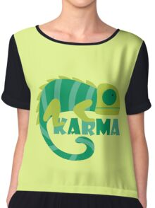 Karma Chiffon Top