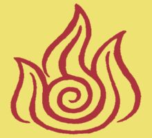 Fire Nation Symbol Kids Clothes