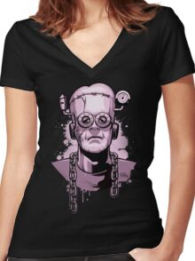Frankenberry's Monster Women's Fitted V-Neck T-Shirt