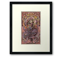 The Sandbar Princess  Framed Print