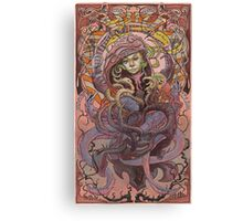 The Sandbar Princess  Canvas Print