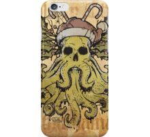Merry Cthulhumas! iPhone Case/Skin
