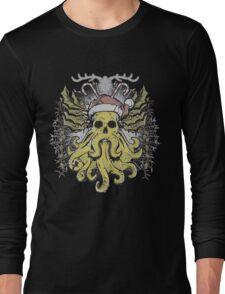 Merry Cthulhumas! Long Sleeve T-Shirt