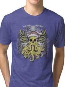 Merry Cthulhumas! Tri-blend T-Shirt
