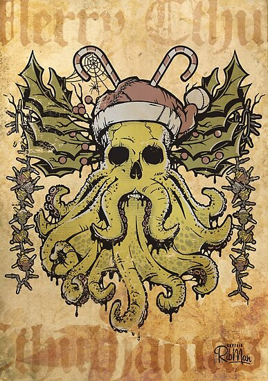 Merry Cthulhumas! by Captain RibMan