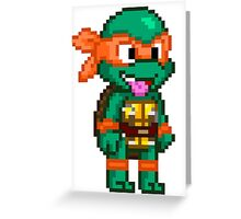 Michelangelo is a Party Dude Greeting Card