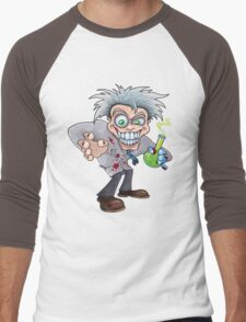 Mad Scientist Men's Baseball ¾ T-Shirt