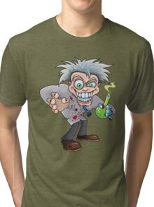 Mad Scientist Tri-blend T-Shirt