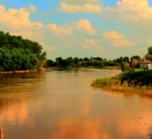 Assiniboine River...HDR Sticker