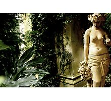 Nude with Fruit in the Orangerie Photographic Print
