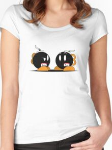 Bob-ombs Women's Fitted Scoop T-Shirt