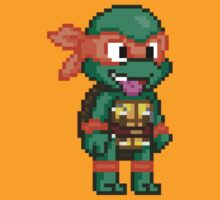 Michelangelo is a Party Dude by geekmythology