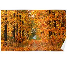 Autumn Painting - Crystallized Art Effect Poster