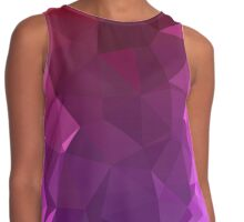 Purple Lights - Crystallized Art Effect Contrast Tank