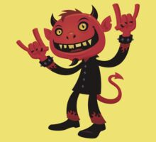 Heavy Metal Devil Kids Tee