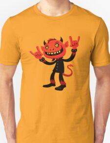 Heavy Metal Devil T-Shirt