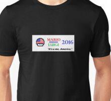 Mario Luigi 2016 Unisex T-Shirt