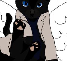 Castiel Kitty Sticker