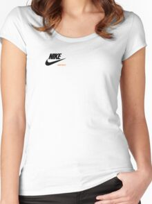"Nike ""Just Do It""  Women's Fitted Scoop T-Shirt"