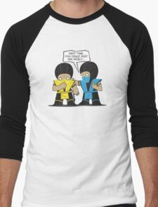 Subby vs. Scorpion Men's Baseball ¾ T-Shirt